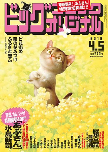 ビッグコミックオリジナル7号 2018年4月5日号