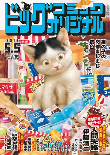 ビッグコミックオリジナル9号 2018年5月5日号