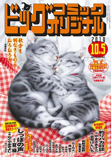 ビッグコミックオリジナル第19号 2019年10月10日号